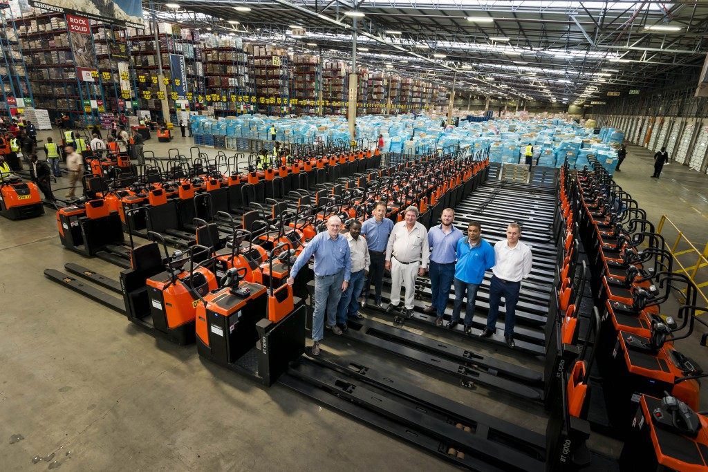 Shoprite Freshmark Awards Major Warehousing Equipment Order To Toyota Forklift Eie Group