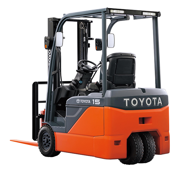 Toyota Forklift S New Three Wheeled Counterbalance Electric Forklift A New Standard In