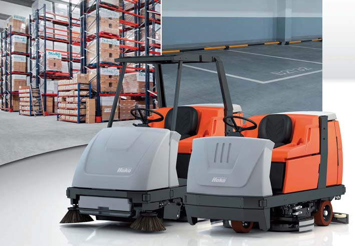 HAKO CLEANING SOLUTIONS - COMBINING CLEANING PERFORMANCE WITH ECONOMIC EFFICIENCY AND ENVIRONMENTAL AND USER FRIENDLINESS