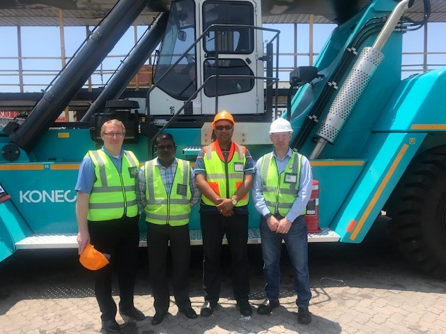 EIE GROUP DELIVERS KONECRANES REACH STACKER TWO MONTHS AFTER ORDER