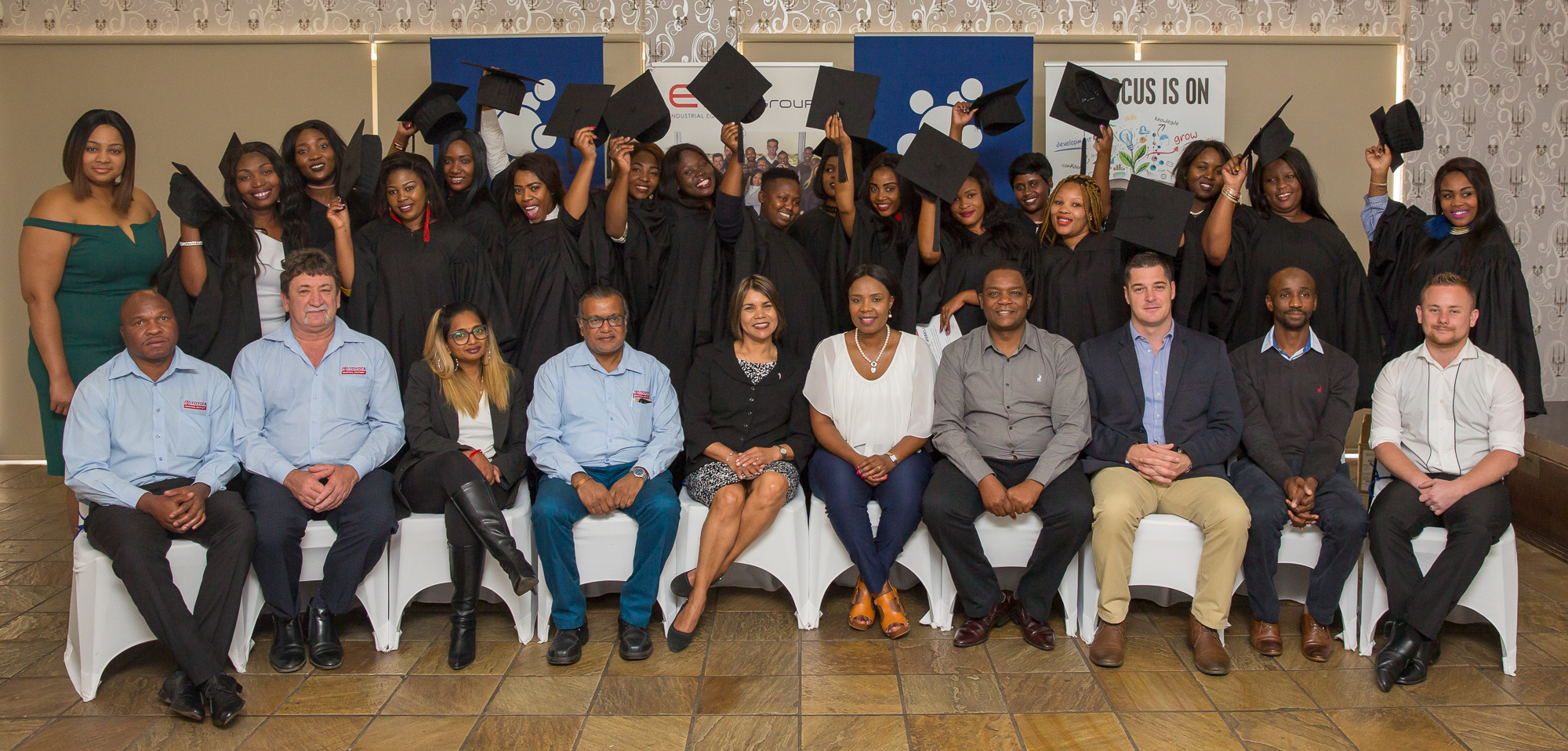 SASOL AND EIE GROUP PARTNERSHIP EMPOWERS UNEMPLOYED FEMALES WITH FORKLIFT DRIVER SKILLS