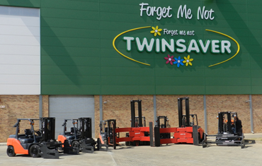 SPECIALIZED TOYOTA AND BT FORKLIFTS SUPPLIED IN FIRST ORDER FROM TWINSAVER